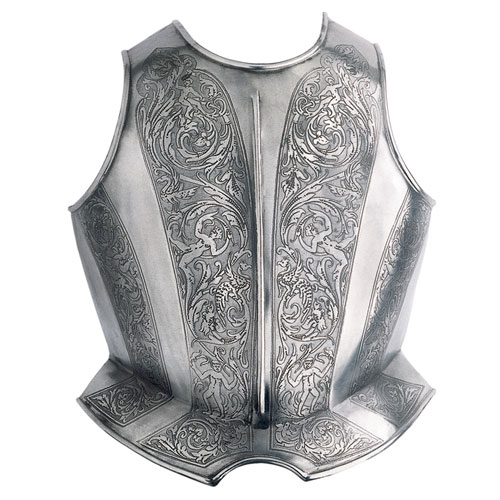 Renaissance armor - Breastplate Etching