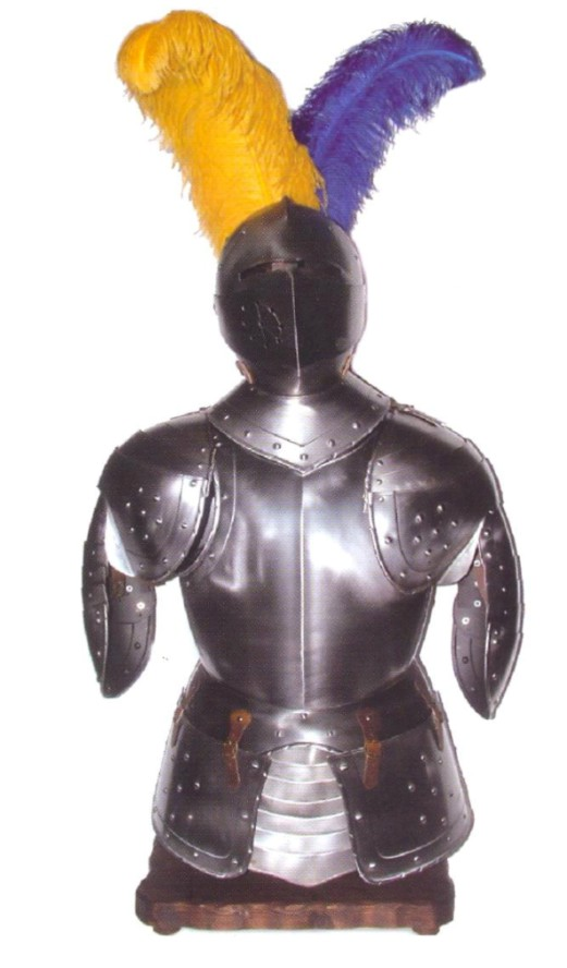 Medieval trophies armor and helmet wall decor for Armor decoration