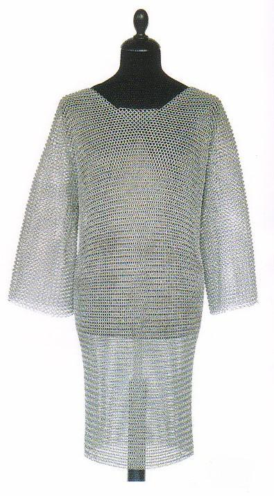 Chainmail, Medieval Armor (Size: XXL - ID 9)