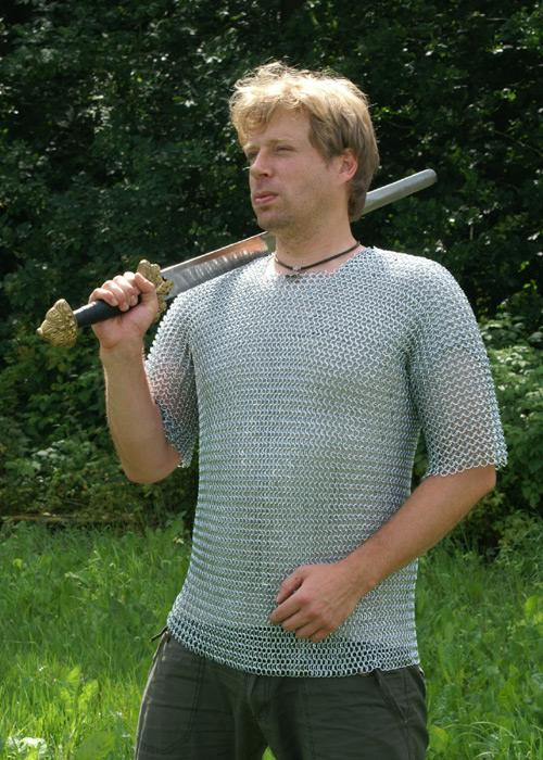 Chainmail, Short-sleeved (sizes M, L - ID 9mm)
