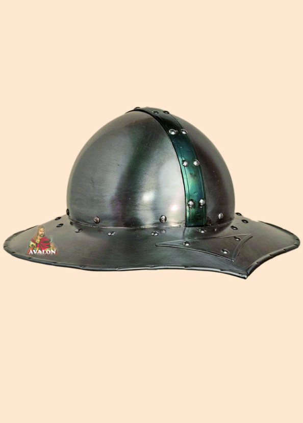 Medieval Kettle Hat, Battle-Ready