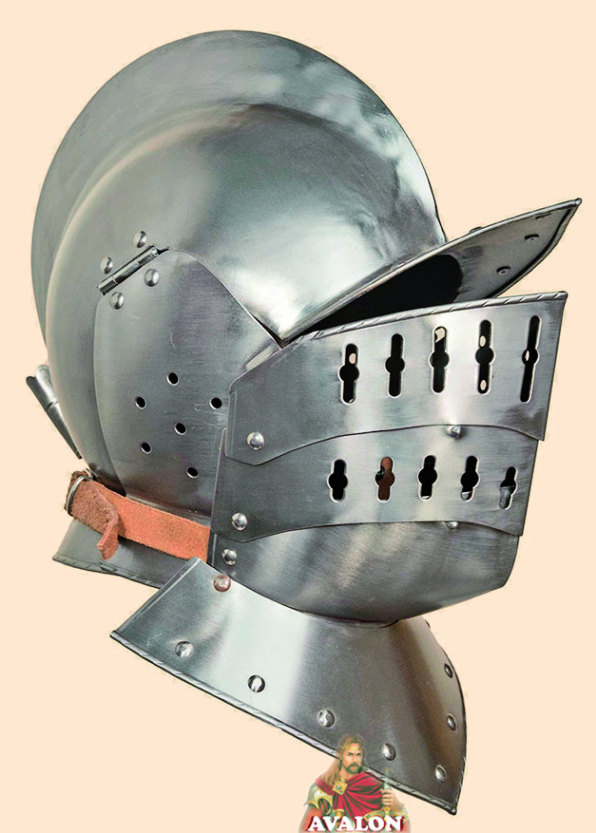 Burgonet Helmet - 2 pieces