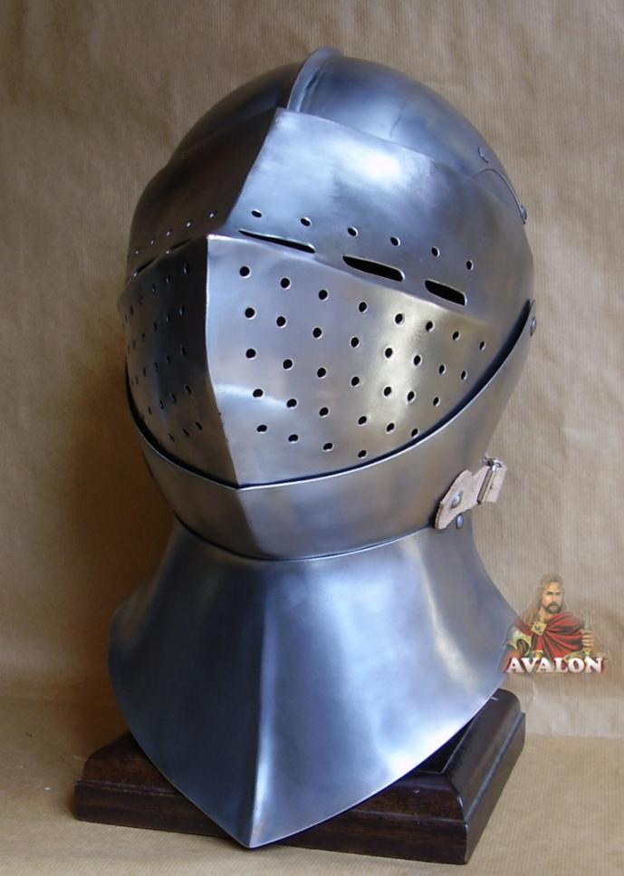 Later great bascinet - battle-ready