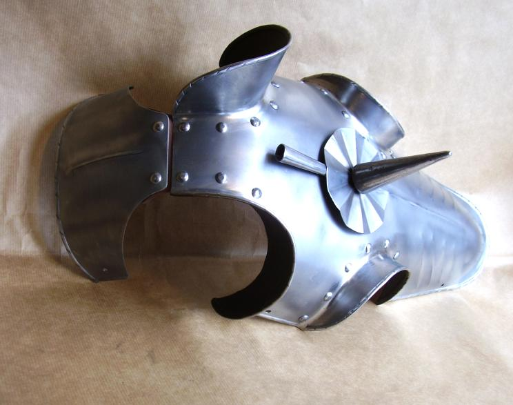 Medieval Horse Armor - Chamfron