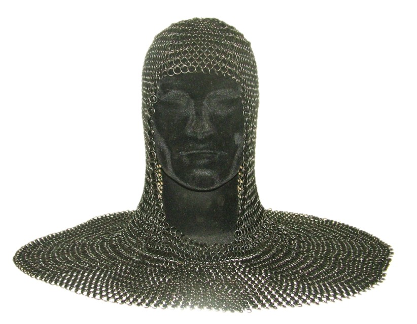 Chainmail Coif Burnished