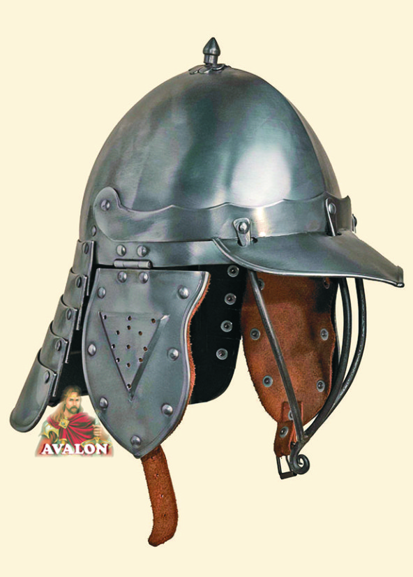 Lobster-tailed pot Helmet