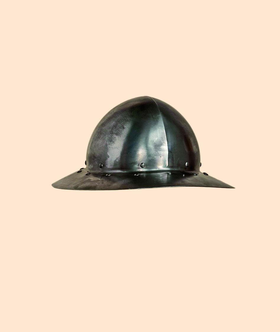 Medieval Kettle Hat - Battle-Ready
