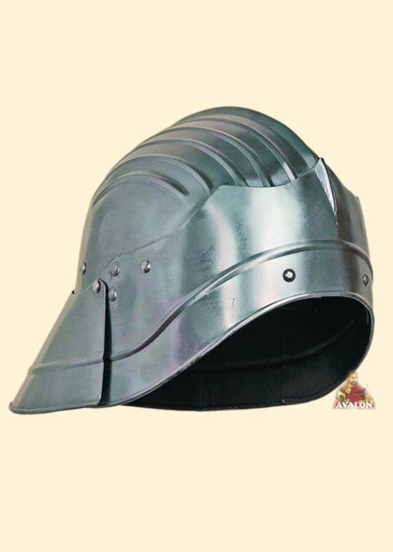 Gothic Sallet - Medieval Helmet