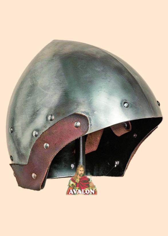 Bascinet Helmet - Medieval Helmet