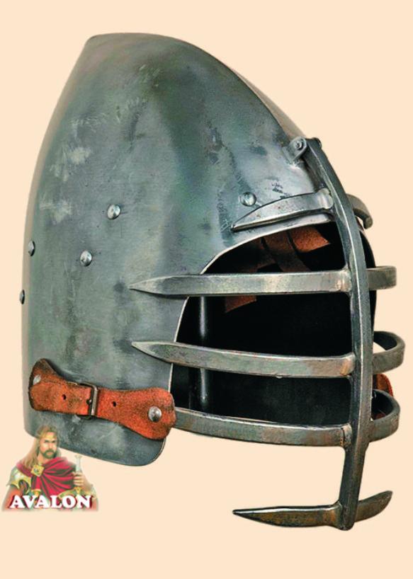 Bascinet - Battle-Ready Helmet