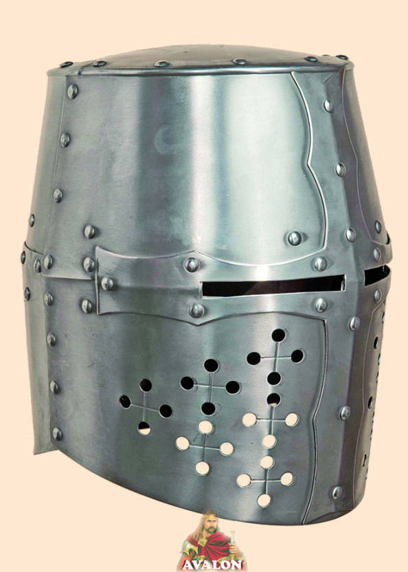 Crusader Helmet - Battle Ready Helmet