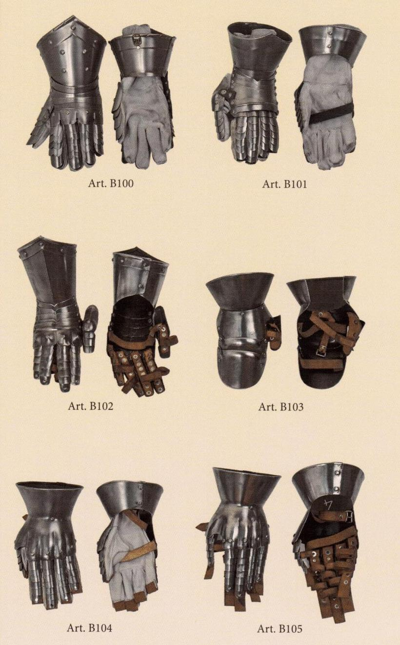 Gauntlet with articulated fingers