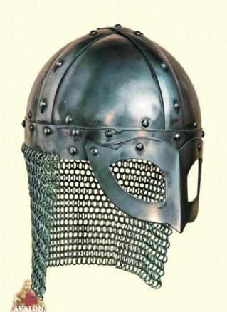 Viking  Helmet - Gjermundbu, battle-ready